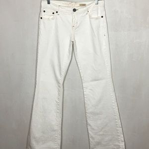 Chip & Pepper White Laguna Beach Flare Jeans